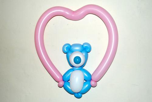 Love Bear Moderate Balloons Main