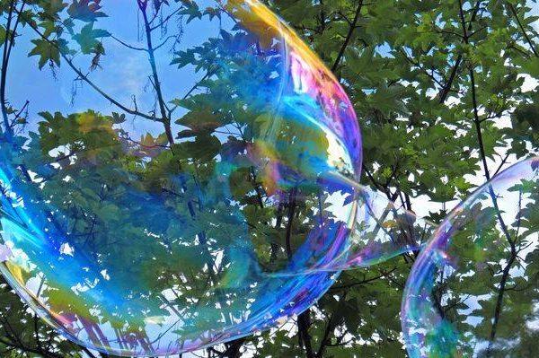 Buborék show, Bubi fújás