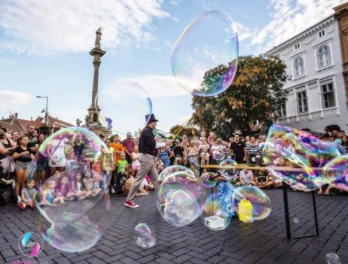 óriás buborék műsor 2